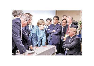 Cumbre del G7 rechaza el proteccionismo