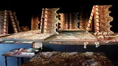 Imponente retablo de Chiquitunga está casi listo y ya deslumbra por su belleza