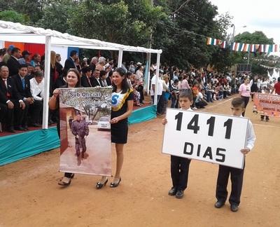 En Arroyito, piden libertad de Edelio