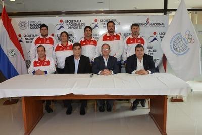 Presentaron equipo de trabajo de cara a los Juegos Sudamericanos 2022