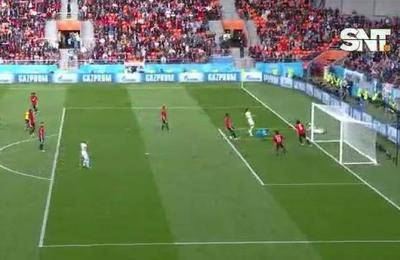 Uruguay goleó a Egipto