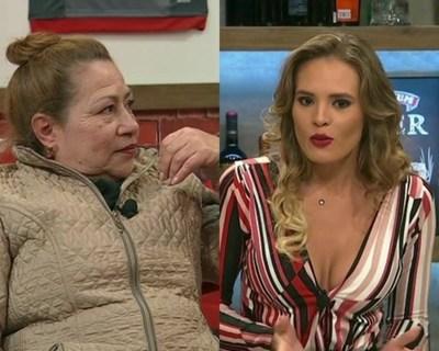 """Tensión entre Ña Herminia y Dahyana Zelinsky en """"Polémica en el Bar"""""""