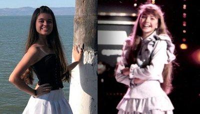 """Esta nena será Lucero en la serie de """"Luismi"""""""