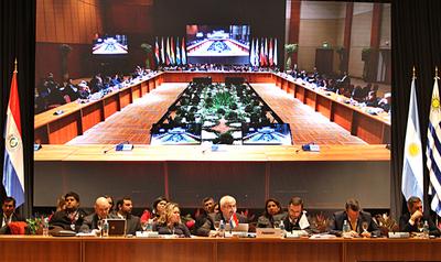 Cancilleres del Mercosur se encuentran hoy en nuestro país
