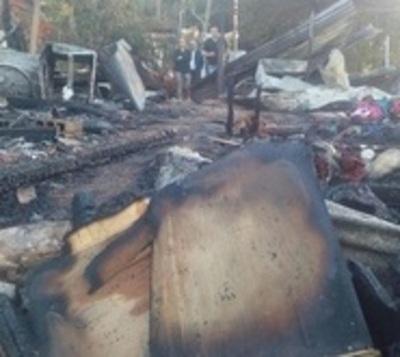 Estufa propicia incendio en vivienda y deja un fallecido en Itauguá