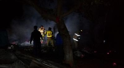Incendio de vivienda deja un muerto en Itauguá