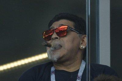 Maradona critica a Sampaoli