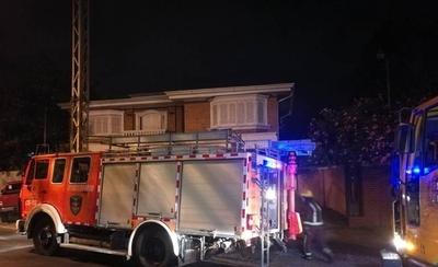 HOY / Bomberos controlaron incendio en Fernando