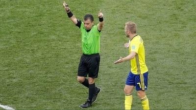 Con un penal cobrado mediante el VAR, Suecia superó a Corea en el segundo partido del Grupo F