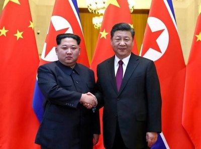 Líderes de Norcorea y China se reúnen tras cumbre histórica