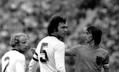 "HOY / Frases con historia: ""Cruyff será mejor jugador, pero yo soy campeón del mundo"" (Beckenbauer)"