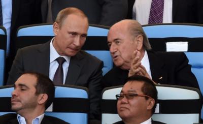 HOY / Blatter vuelve a reunirse este viernes con Putin antes de abandonar Rusia