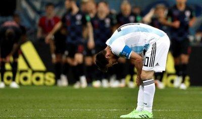 Paliza: Croacia golea a Argentina y clasifica a octavos