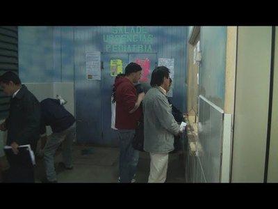 OBRAS AFECTAN SERVICIOS MÉDICOS
