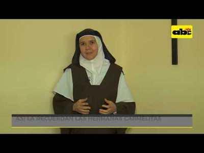 La vida de Chiquitunga en el convento