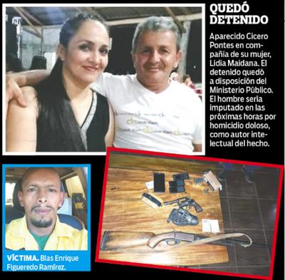 De 5 tiros mandó matar al amante de su mujer