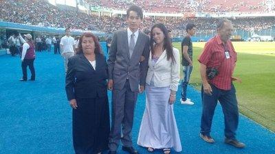 Ángel, el milagro de Chiquitunga