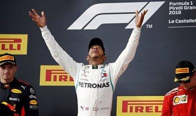 Hamilton recupera el mando con una exhibición en el Paul Ricard