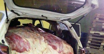 Comuna confirma destrucción de carne ingresada de contrabando