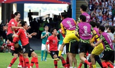 Corea del Sur da la sorpresa y elimina a Alemania