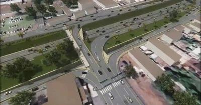 Viaducto Km 7: Obras complementarias se inician la próxima semana