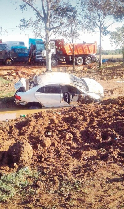 Fatal accidente rutero a raíz de una vaca suelta