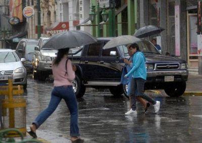 Lluvia y más lluvia para este martes