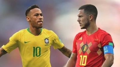 HOY / Brasil y Bélgica, pulso de favoritos por un puesto en semifinales