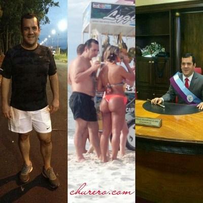 Marly Figueredo de amores con gobernador del Guairá por playas del Brasil? Viajaron en un jet privado?