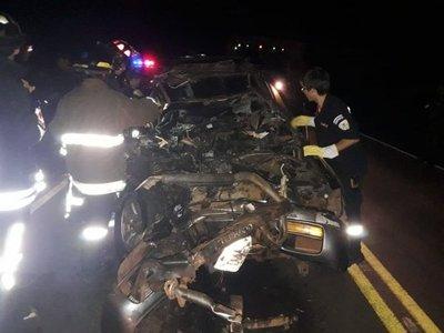 Un muerto en choque en Villarrica