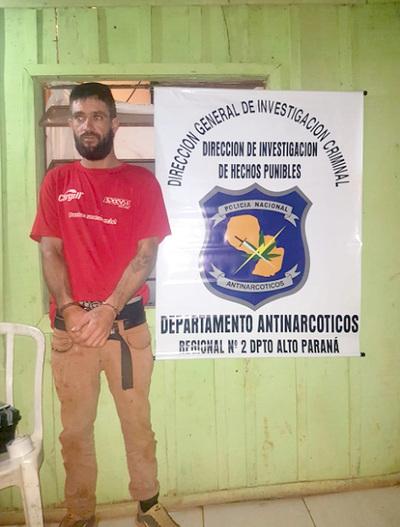 En Brasil echan más de 1.000 kilos de drogas por semana y en CDE solo algunos gramos