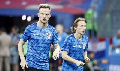 Modric y Rakitic, los motores de un sueño