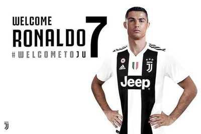 Confirmado: Juventus tendrá al mejor jugador del mundo Cristiano Ronaldo