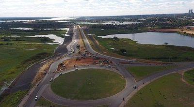 Costanera II: Con 83% de ejecución avanza la vía peatonal más extensa de Asunción