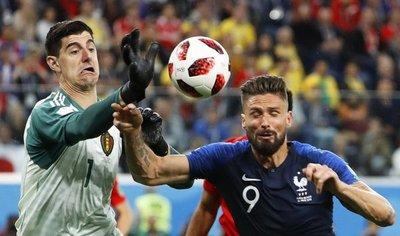 Courtois desacredita la victoria francesa: No fueron mejores