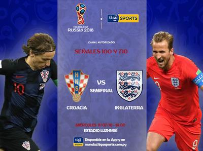 Inglaterra y Croacia, al todo o nada