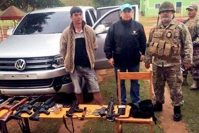 Narco escapó durante operativo policial