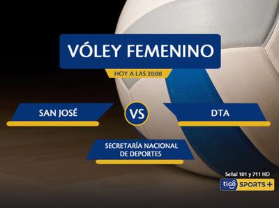 San José versus Deportivo Alemán, por Tigo Sports +