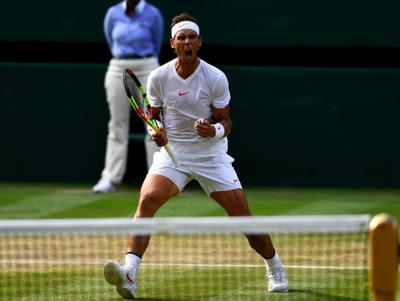 Nadal eliminó a Del Potro y está en semis de Wimbledon