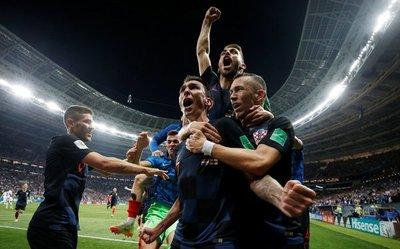 Croacia deja fuera a Inglaterra y enfrentará a Francia en la final