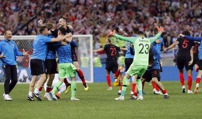 Croacia, primera selección que sobrevive a tres prórrogas
