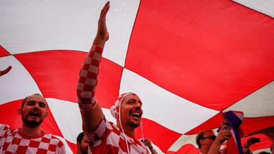 Croacia delira con su primera final mundialista