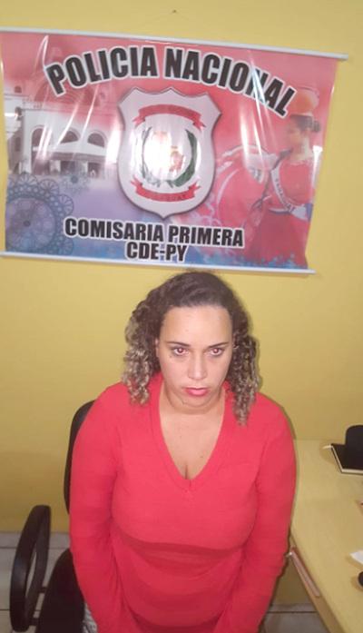 Brasileña quiso meter droga a la cárcel en sus partes íntimas y terminó presa