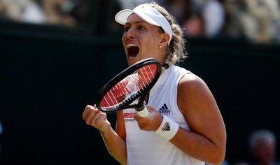 Kerber frena a Ostapenko y disputará la final en Wimbledon