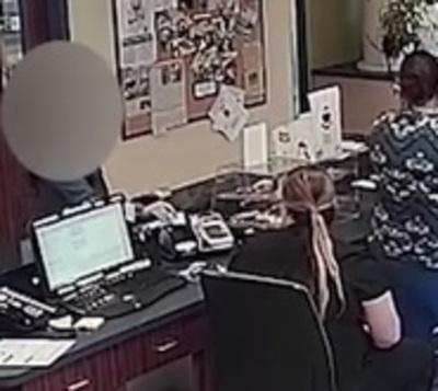 Una nota a la veterinaria le salvó de su violento novio