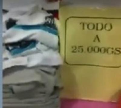Uniformes de escuela pública brasileña en oferta en Paraguay