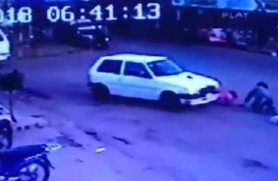 Concepción: madre e hija arrolladas por un auto