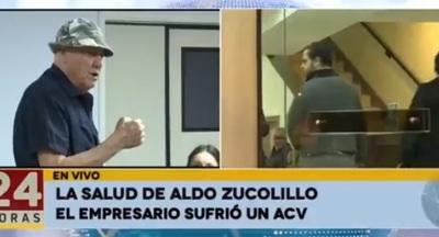 Actualizan condición de salud de Aldo Zuccolillo