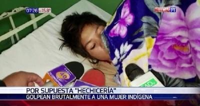 """Mujer fue golpeada por practicar """"brujeria"""" en su comunidad"""