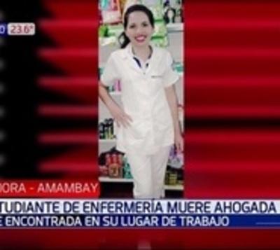 Hallan muerta estudiante de enfermería: Su cuerpo estaba en la piscina